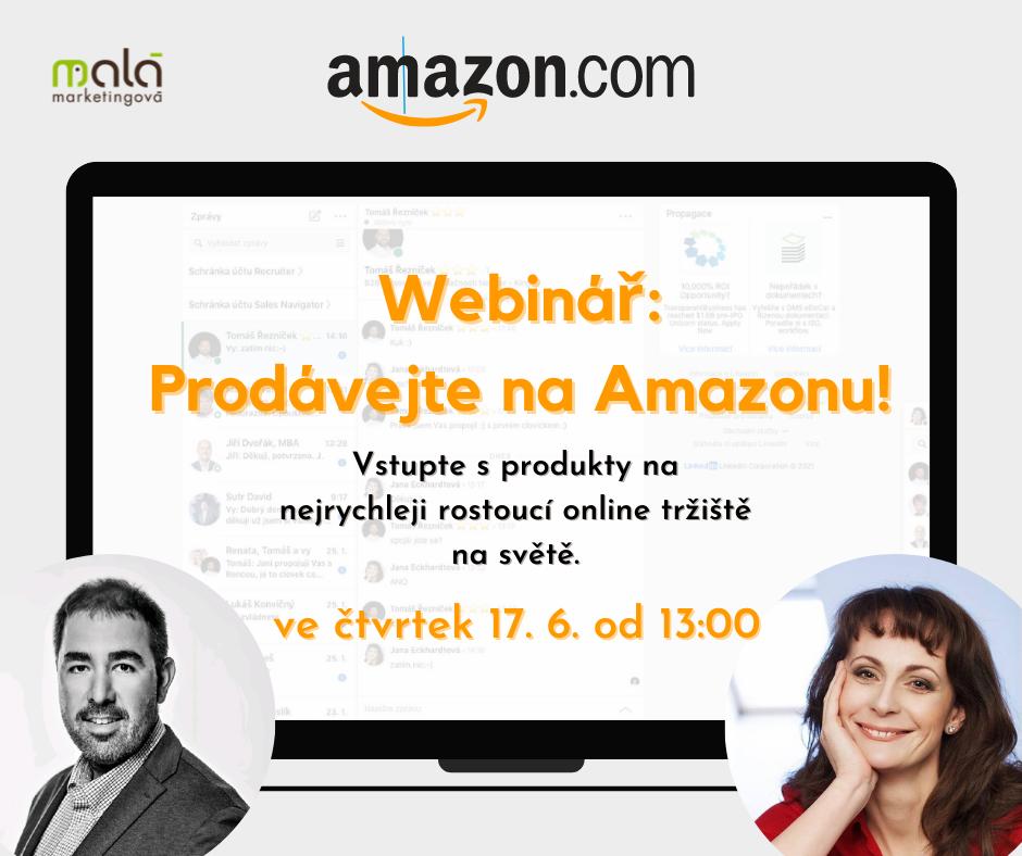 webinář prodávejte na Amazonku