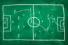 Obrázek strategii hry na hřišti.